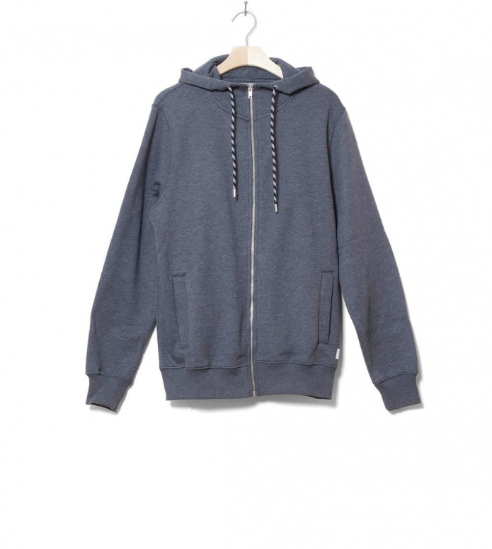Revolution Zip Sweater 2571 blue navy M