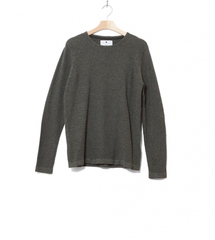 Revolution Knit Pullover 6005 green army S