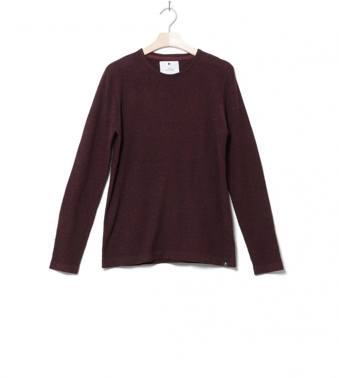 Revolution Knit Pullover 6005 red bordeaux S