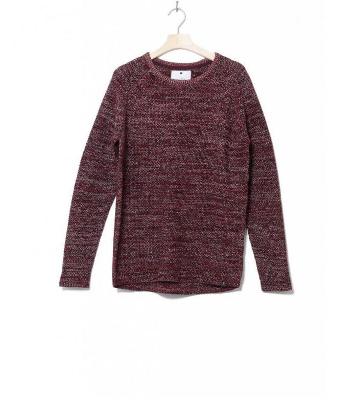 Revolution Knit Pullover 6293 red dark M