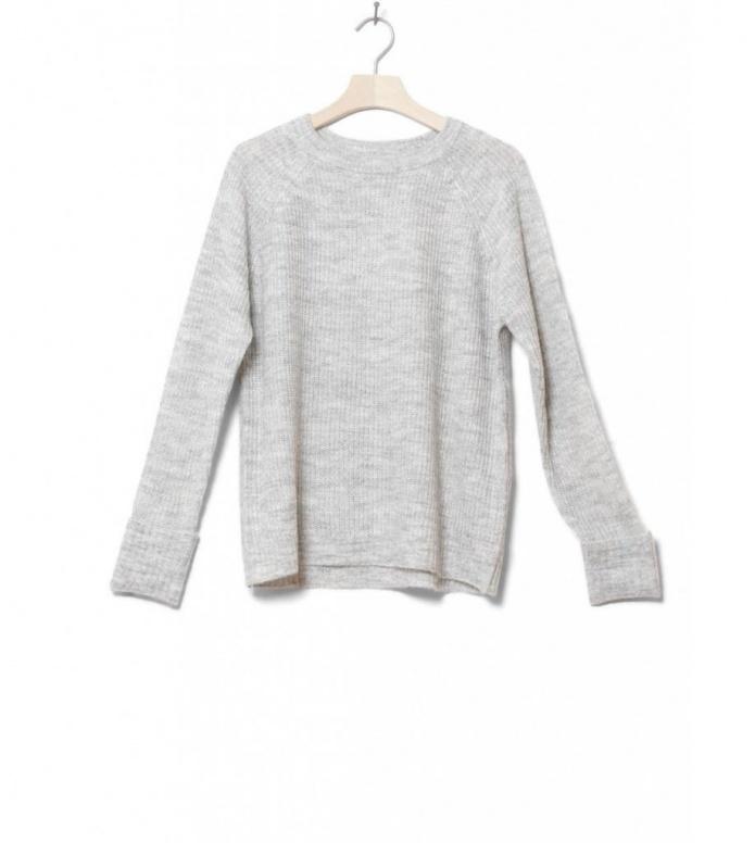 MbyM W Knit Pullover Cimola grey light melange