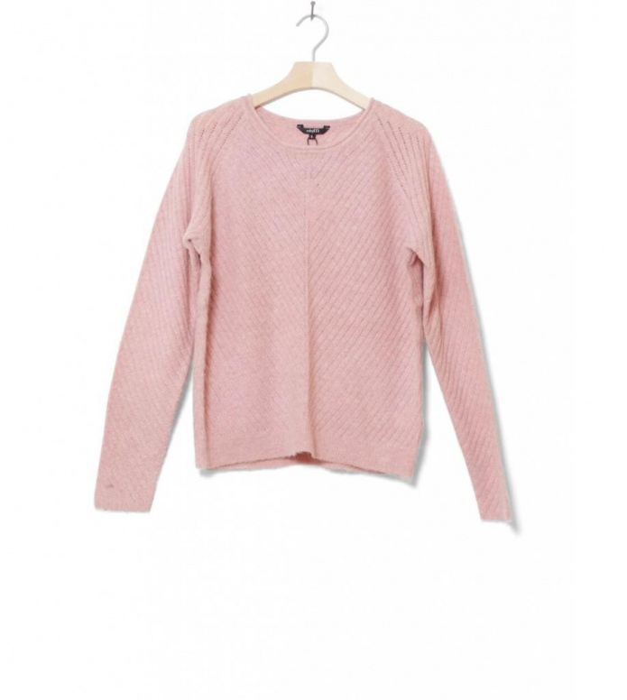 MbyM W Knit Pullover Liliani pink powder breeze melange XS