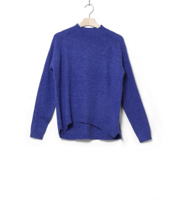 MbyM W Knit Pullover Ilse blue reflex melange