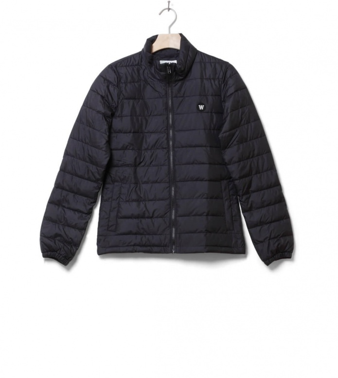 Wood Wood Wood Wood W Winterjacket Alba black