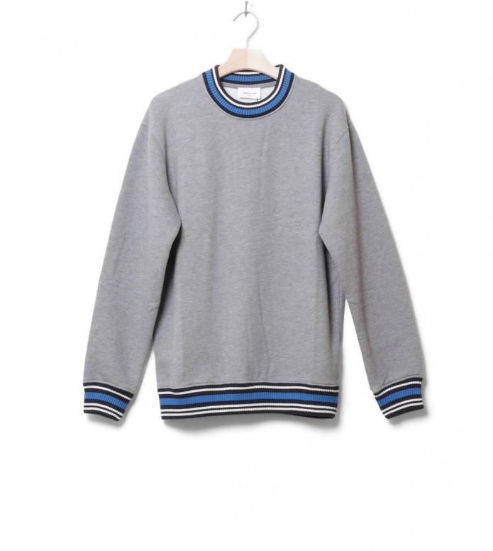 Wood Wood Sweater Nathan grey melang M