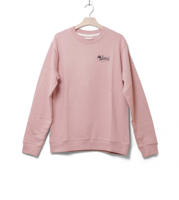 Wemoto Sweater Isle pink powder L