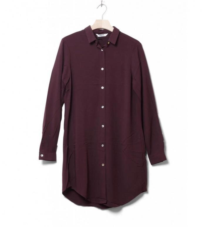 Wemoto W Shirt Cinder red burgundy S