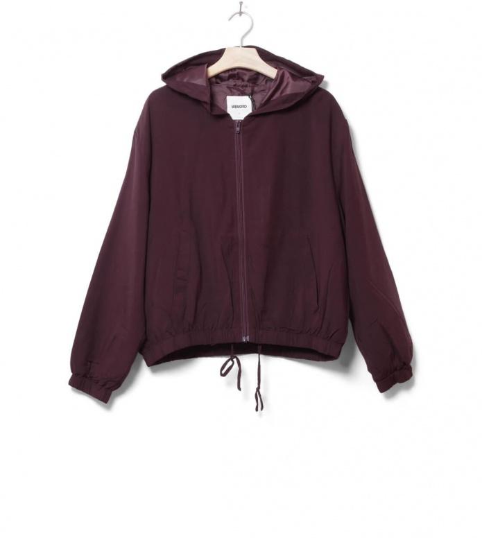 Wemoto W Jacket Silvam red burgundy XS