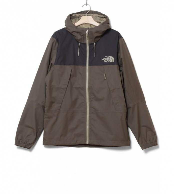 The North Face Jacket Mountain Q green new taupe/black S