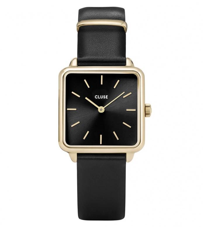 Cluse Cluse Watch La Tetragone black/black gold