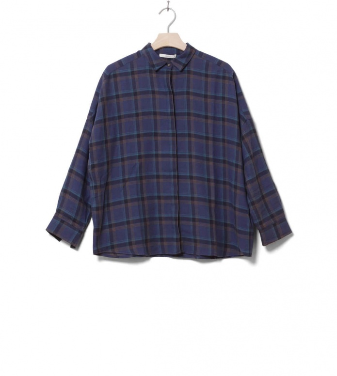 Sessun W Shirt Delima blue checks