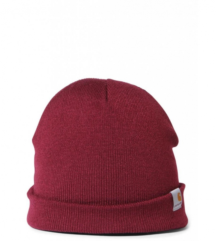 Carhartt WIP Beanie Stratus Hat Low red mulberry one size