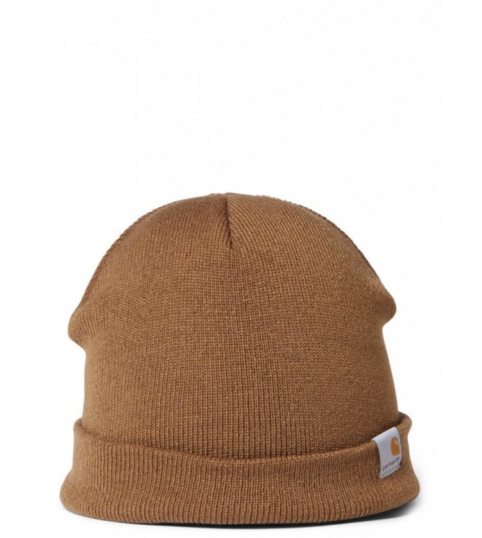 Carhartt WIP Beanie Stratus Hat Low brown hamilton one size