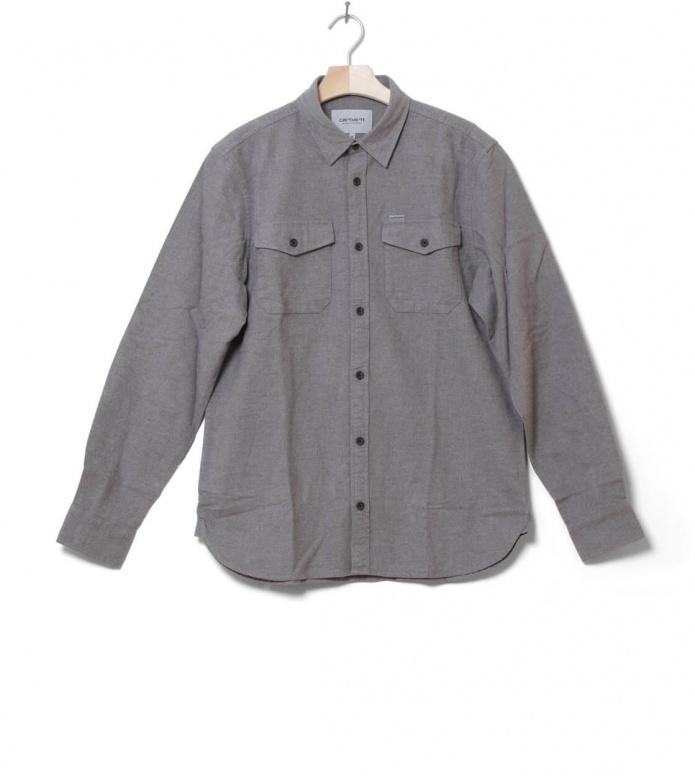 Carhartt WIP Shirt Vendor grey dark heather S