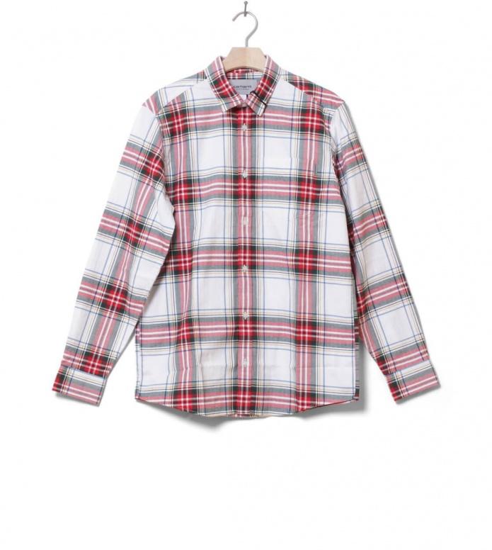 Carhartt WIP Shirt Vigo white multi S