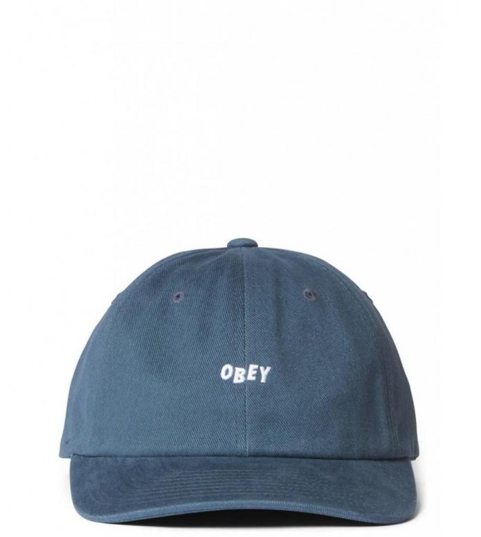 Obey Obey 6 Panel Cutty Snapback blue dark teal