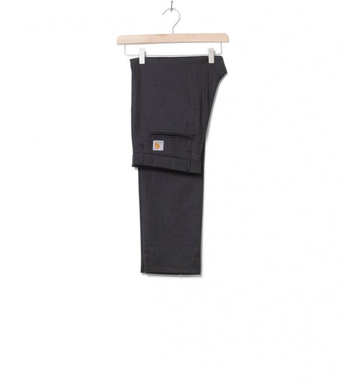 Carhartt WIP Pant Sid Wool black heather 29/32