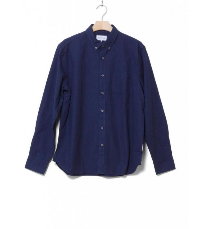 Penfield Shirt Wheatley blue navy M