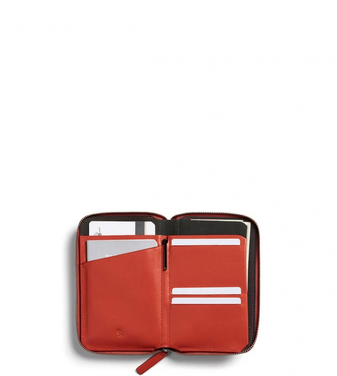 Bellroy Bellroy Travel Folio RFID red tangelo