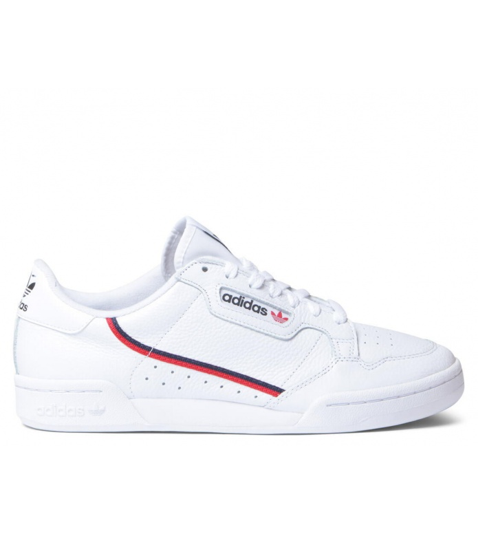 adidas Originals Adidas Shoes Continental 80 white footwear/scarlet/collegiate navy