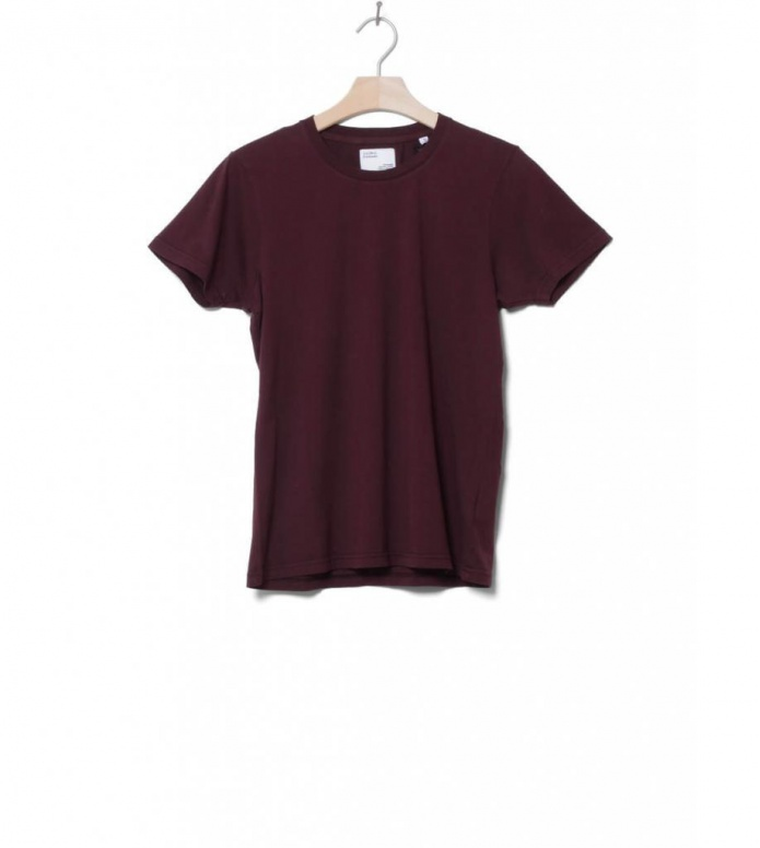 Colorful Standard Colorful Standard W T-Shirt CS 2051 red oxblood
