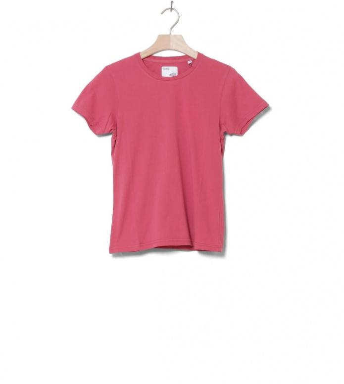 Colorful Standard Colorful Standard W T-Shirt CS 2051 pink raspberry