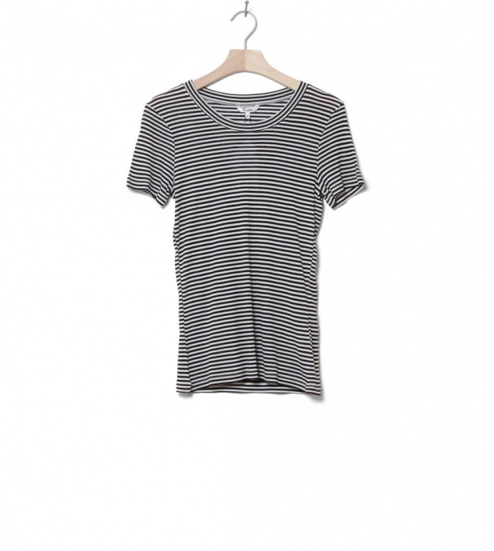 MbyM W T-Shirt Samira black sugar stripe XS