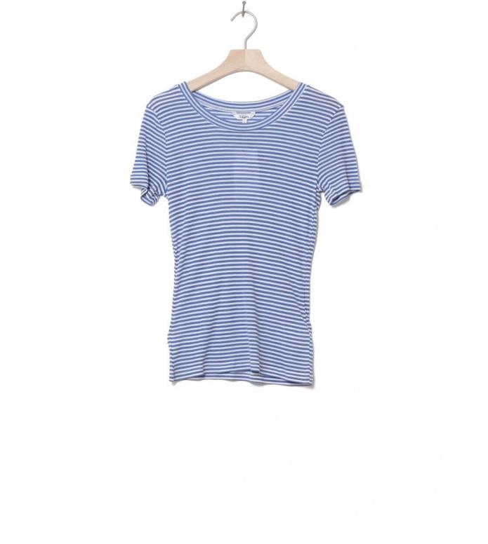 MbyM W T-Shirt Samira blue cobalt sugar stripe