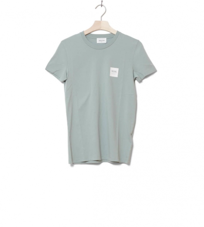 Wood Wood Wood Wood W T-Shirt Eden green mint