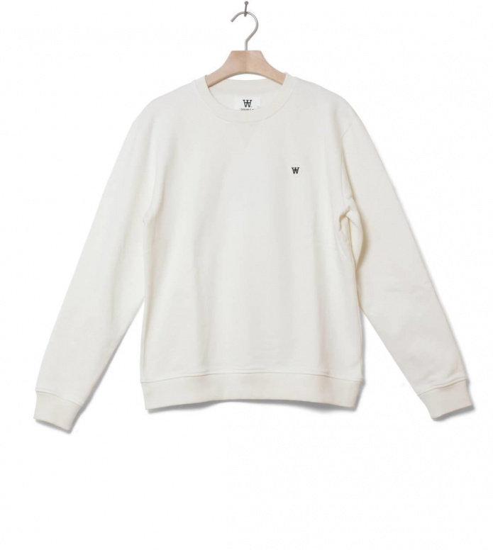 Wood Wood Wood Wood Sweater Tye white off
