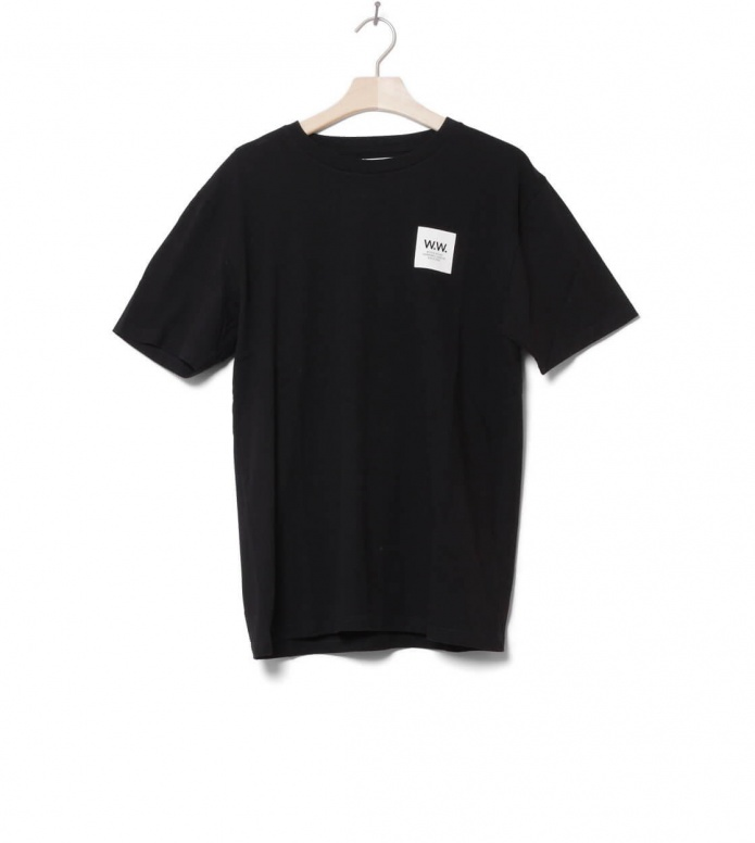 Wood Wood Wood Wood T-Shirt Box black