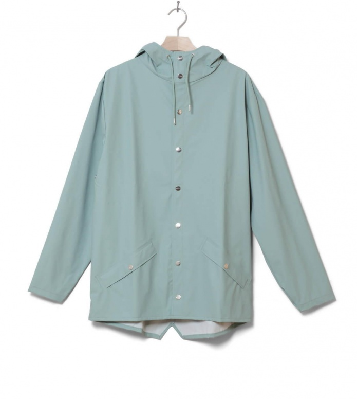 Rains Rains Rainjacket Short green dusty mint