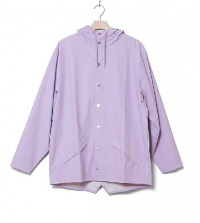 Rains Rains Rainjacket Short purple lavender