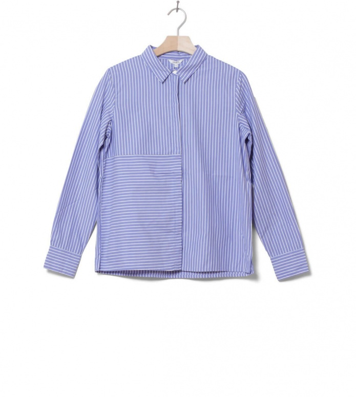 MbyM W Shirt Contime blue regan stripe S