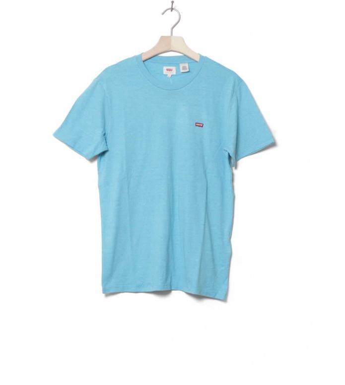 Levis T-Shirt Original blue norse S