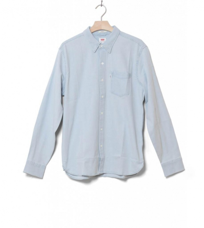 Levis Shirt Sunset 1 Pocket blue super white light S