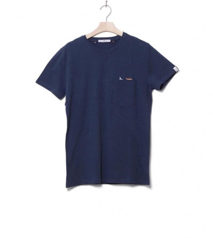 Revolution (RVLT) Revolution T-Shirt 1106 JAW blue navy melange