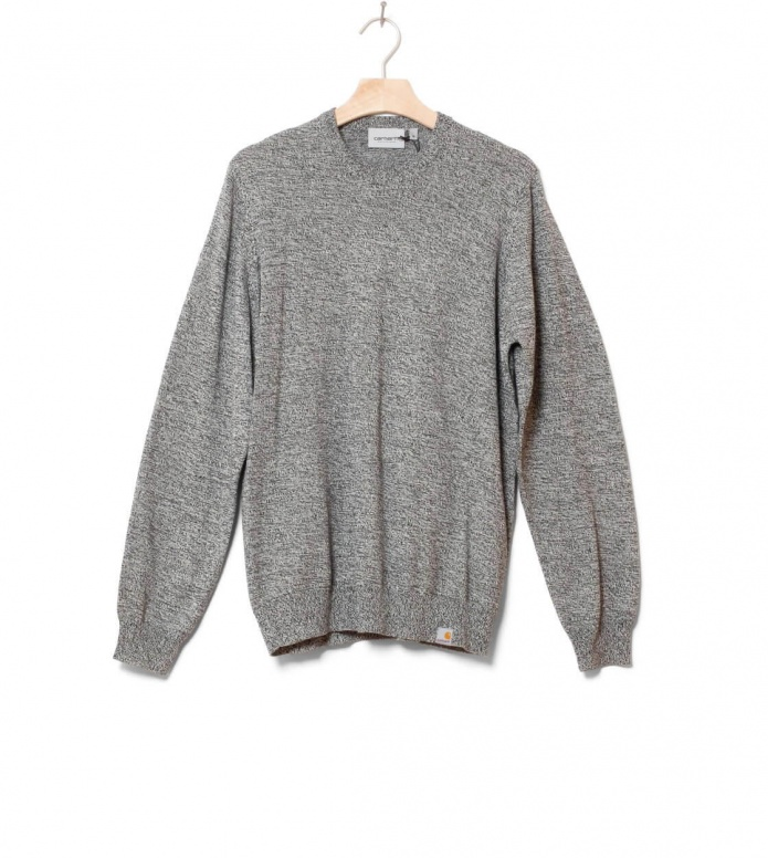Carhartt WIP Sweater Toss black/broken white M