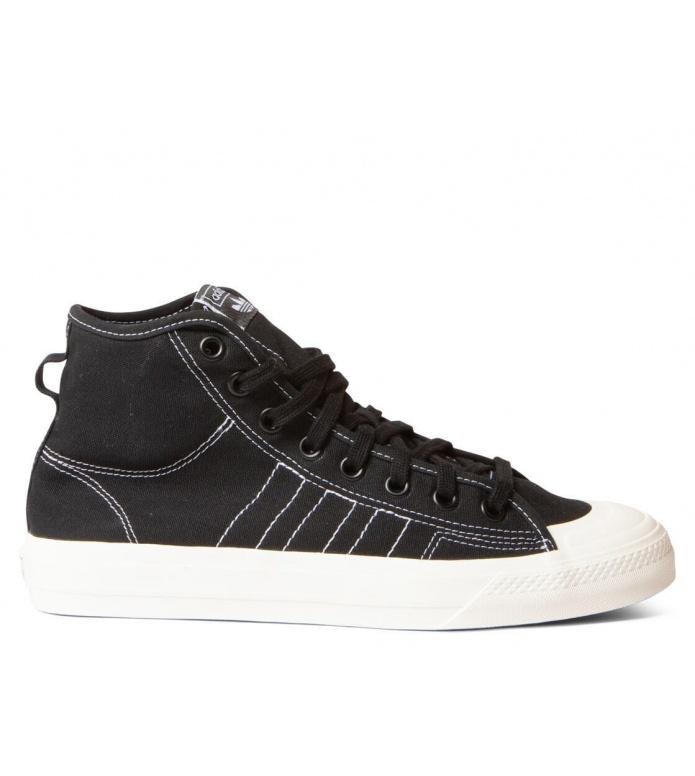 adidas Originals Adidas Shoes Nizza HI RF black core/footwear white/off white
