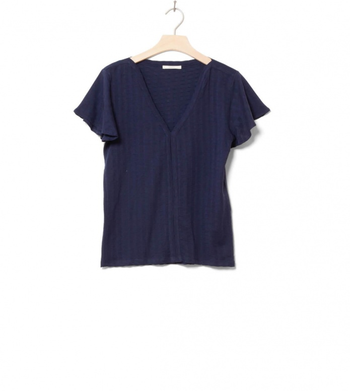 Sessun W Top Lourenzo blue indigo S