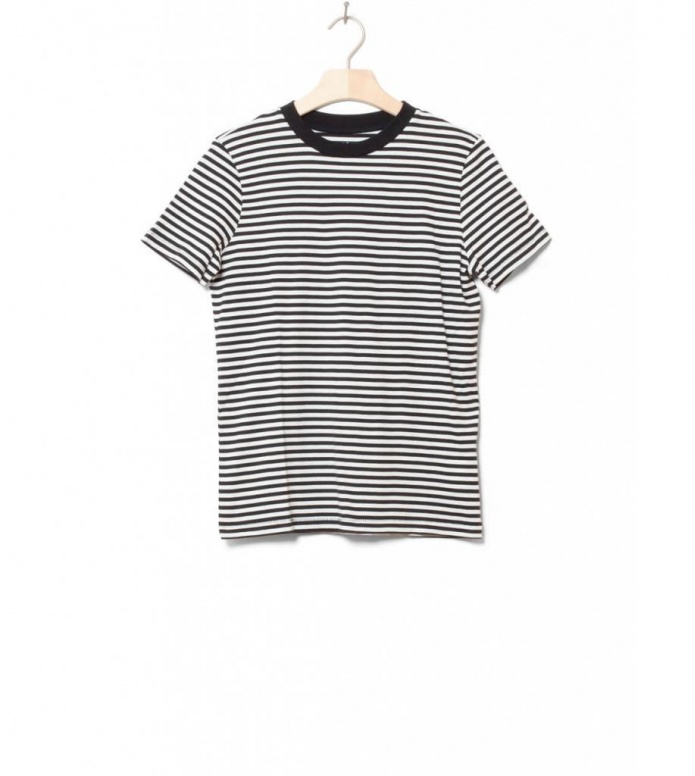 Selected Femme T-Shirt Sfmy Perfect black stripes XS