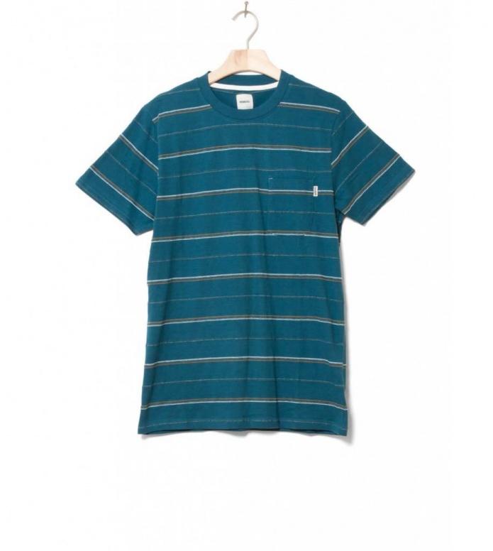 Wemoto T-Shirt Fergus blue atlantic green S