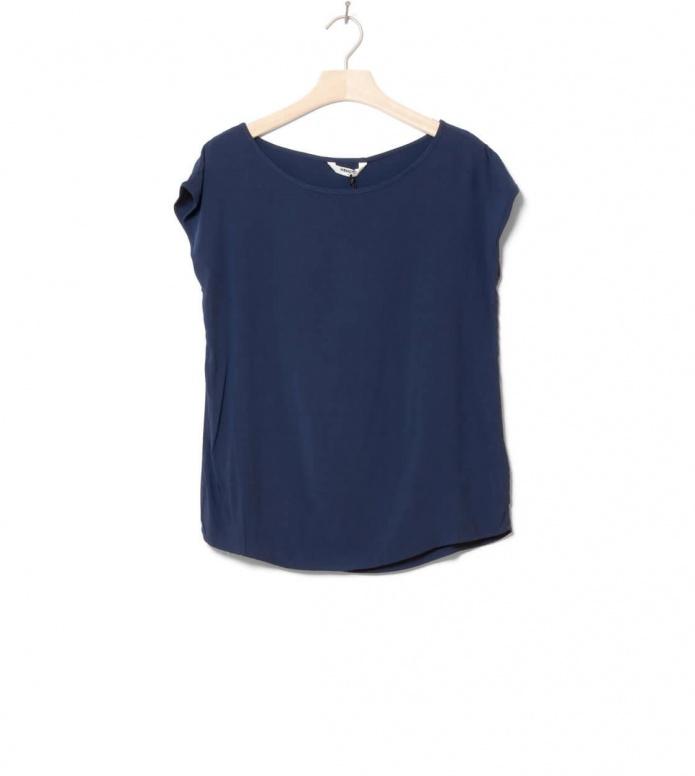 Wemoto W T-Shirt Melvin blue navy XS