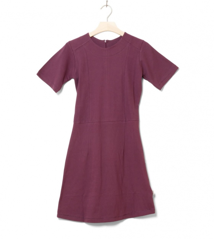 Wemoto W Dress Erica red burgundy XS