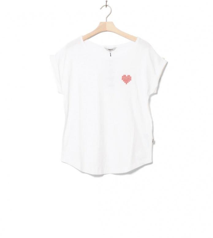 Wemoto W T-shirt Heart white