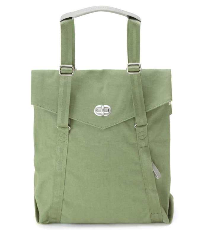 Qwstion Qwstion Bag Tote organic moss