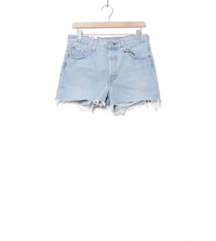 Levis W Shorts 501 High Rise blue weak in the knees 25