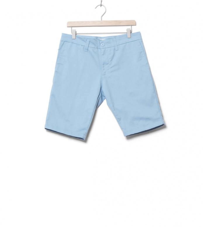 Carhartt WIP Shorts Sid Lamar blue capri 30
