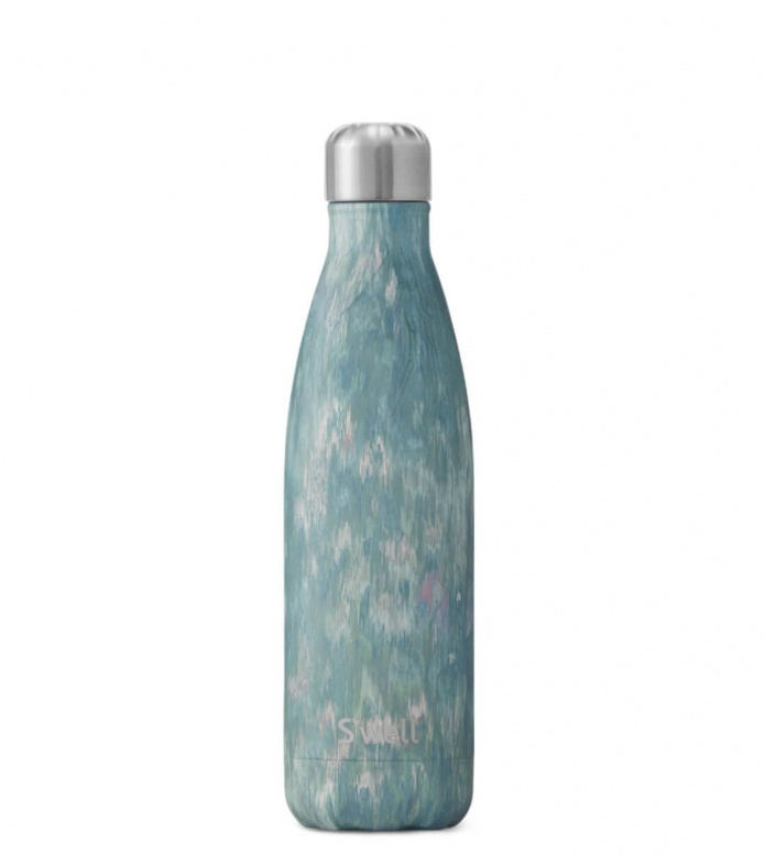 Swell Swell Water Bottle MD blue painted poppy