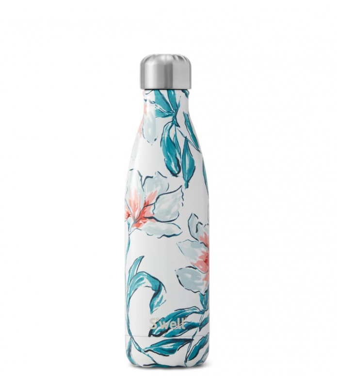Swell Swell Water Bottle MD white madonna lily